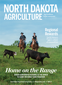 ND Agriculture Magazine cover