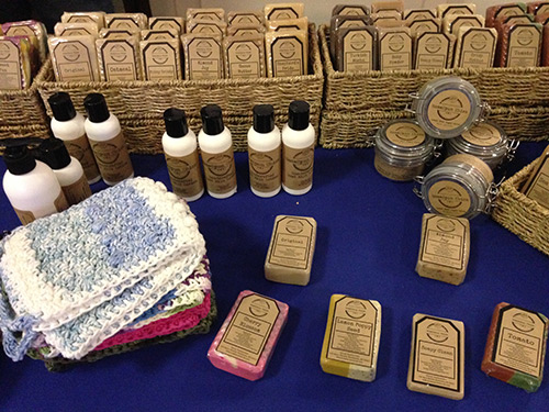 Products handcrafted by HomeSpun Chick