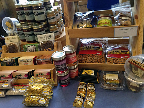 Food products sold at Home Sweet Home, Minot, ND