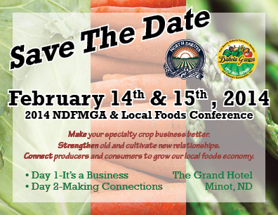 2014 NDFMGA & Local Foods Conference