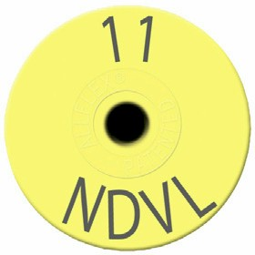 Small Round NDVL Tag