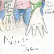 Cover art winner for Ag in the Classroom Calendar Art Contest